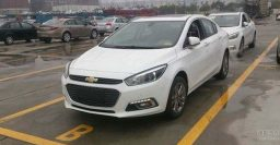 New Chevrolet Cruze spotted undisguised in China; 7-speed DCT rumoured