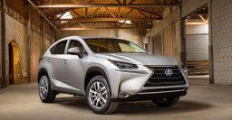 Lexus NX small SUV full of edges, 3 drivetrains: NX200, NX200t, NX300h