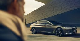 BMW Vision Future Luxury previews next 7-Series: tablet, OLED at rear