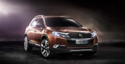 Citroen DS 6WR: FWD SUV targets China, loses Wild Rubis' flamboyance