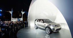 Land Rover Discovery Vision concept has transparent bonnet, remote control