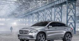 Mercedes-Benz Concept Coupe SUV previews BMW X6 challenger