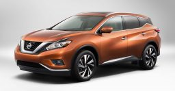 3rd gen Nissan Murano: 3.5L V6 and CVT only, 8-inch multi-touch screen