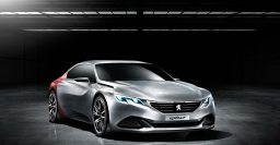 "Peugeot Exalt concept: 254kW hybrid 4-door ""coupe"" for China"