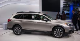 MY2015 Subaru Outback hands-on: bigger body and less ugly