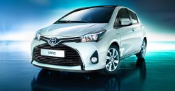 XP130 Toyota Yaris/Vitz given Aygo-style facelift on some models