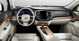 Second generation Volvo XC90 interior revealed without floating dash