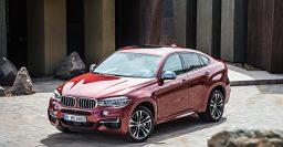 F16 BMW X6: 8-speed auto, bi-xenon headlights, dubious style all standard