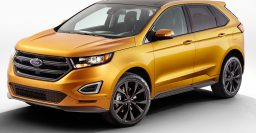 Ford Edge MY2015: global SUV goes turbo, has capacitive buttons on dash