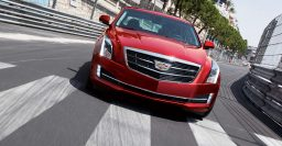 Cadillac ATS sedan ditches wreath for 2015 model year