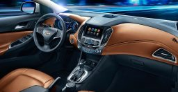 Second generation Chevrolet Cruze interior detailed by Chevy China