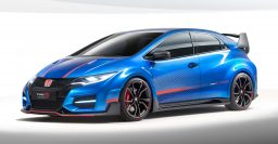 Honda Civic Type-R Concept II: hit the +R button for a harder ride