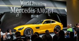 Mercedes-AMG GT packs 340kW or 375kW twin-turbo V8