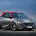 Opel Adam S: 110kW/150hp turbo standard, red roof optional
