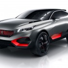 Peugeot Quartz concept: plug-in hybrid with two electric motors