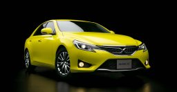 Toyota Mark X Yellow Label doesn't have to be ordered in yellow