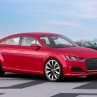 Audi TT Sportback concept: a 5-door TT that's pretty in pink