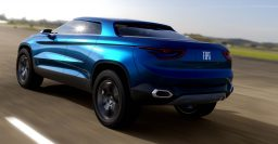 Fiat FCC4 concept mixes four-door coupe with pickup truck
