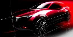 Mazda CX-3 will debut at the 2014 LA Auto Show in Nov