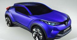 Toyota C-HR concept: green light given for sub-RAV4 SUV