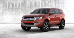2015 T6 Ford Everest: Latest 7-seat Ranger-based SUV debuts