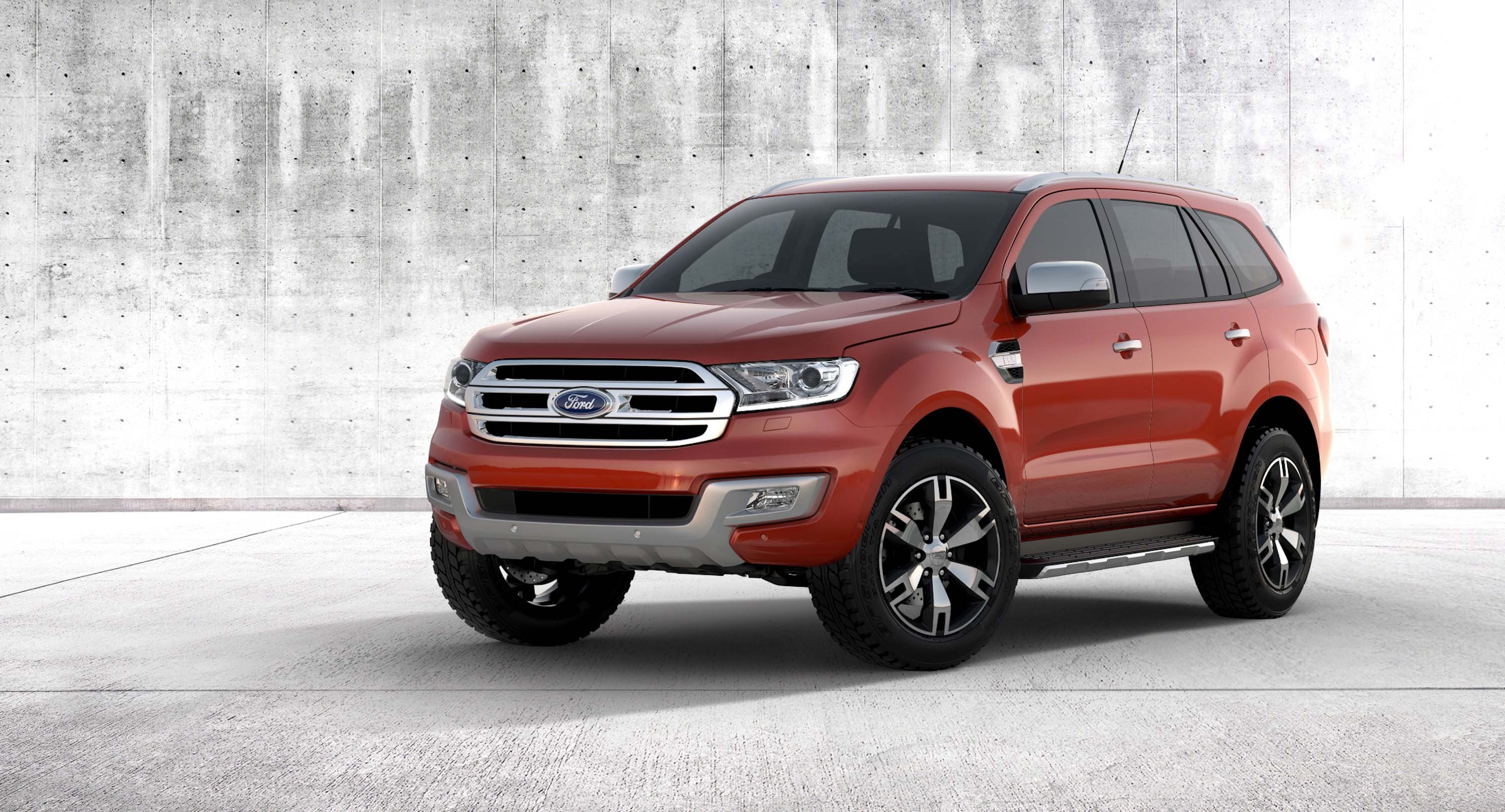 2015 t6 ford everest latest 7 seat ranger based suv debuts between the axles. Black Bedroom Furniture Sets. Home Design Ideas