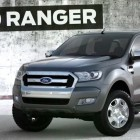 T6 Ford Ranger 2015 facelift: chromier grille shown on YouTube