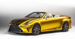 Lexus LF-C2 concept previews possible RC convertible