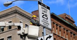 New York City's default speed limit reduced to 25mph (40km/h)