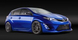 Scion iM concept is an a pumped up Toyota Auris/Corolla hatchback