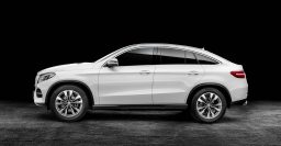 C292 Mercedes-Benz GLE Coupe debuts softcore AMG variant
