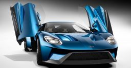 New Ford GT: production late 2016, mid-engine twin-turbo V6