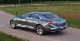 Buick Avenir concept imagines a large tri-shield RWD sedan