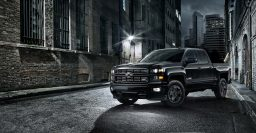 Chevrolet Silverado Midnight Edition turns a Z71 all black