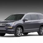 2016 Honda Pilot leaked, 8-seat SUV less dreary than before