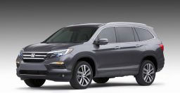 2016 Honda Pilot leaked, 8-seat SUV less dreary than before