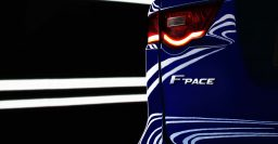 Jaguar F-Pace is the name of the company's first SUV