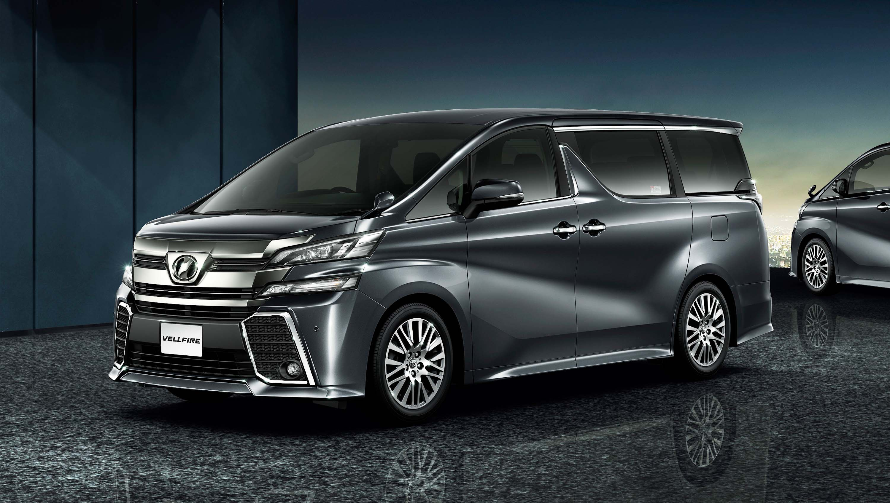 Toyota Vellfire: 3rd generation MPV photo gallery ...