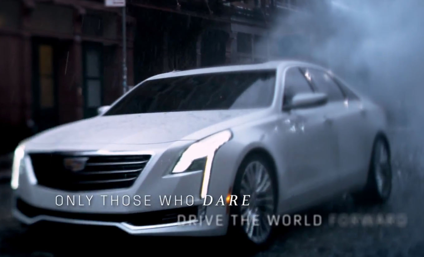 cadillac ct6 revealed in oscars ad with steve wozniak. Black Bedroom Furniture Sets. Home Design Ideas
