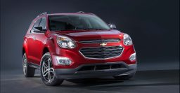 MY2016 Chevrolet Equinox facelift has ugly Cruze-like grille