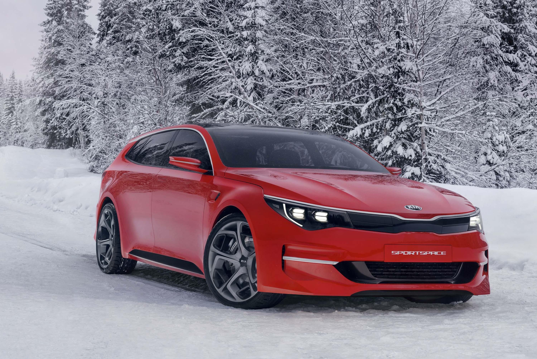 Kia Sportspace wagon concept previews next-gen Kia Optima