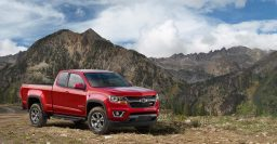 Chevrolet Colorado Z71 Trail Boss Edition ups off-road ability