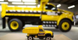 Ford F-750 Tonka dump truck brings kids toy to reality