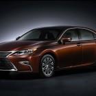 XV60 Lexus ES facelift sedan photo gallery