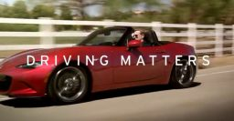 "Mazda adds ""Driving Matters"" to Zoom-Zoom tag line"