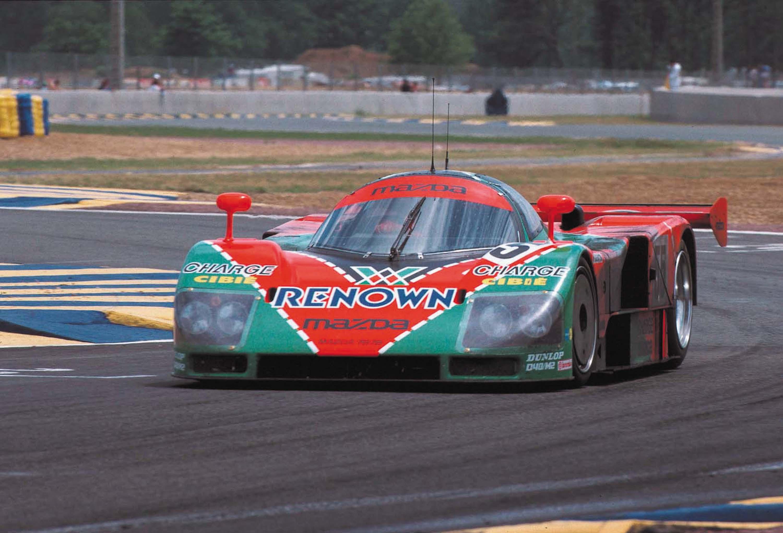 1991 Mazda 787B Le Mans race car photo gallery
