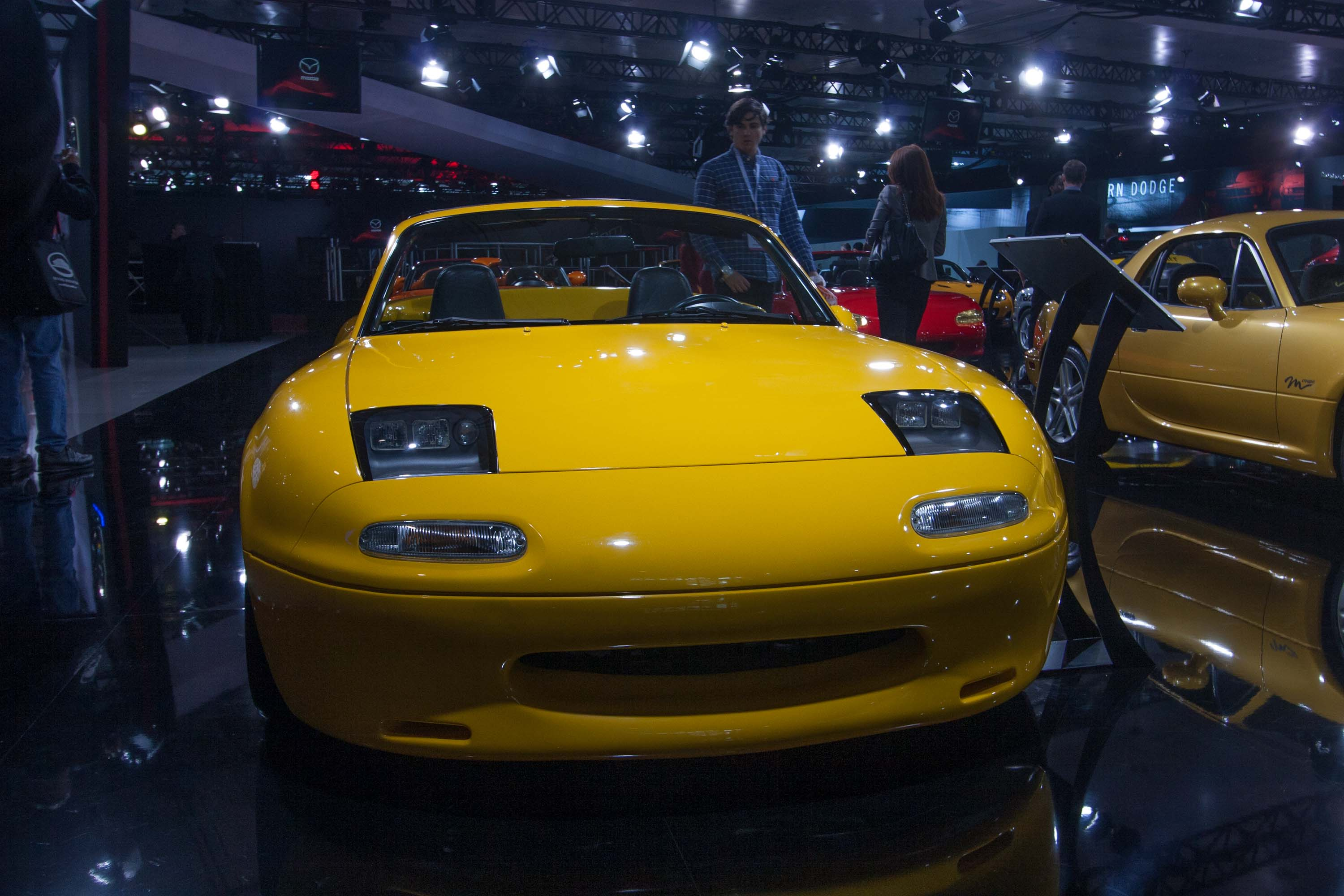 Mazda MX-5: 25 years display at NYIAS 2014 photo gallery