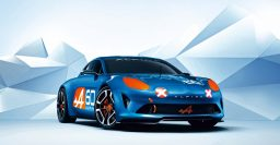 Alpine Celebration: Mid-engine concept for brand's 60th birthday