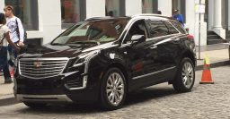 Cadillac XT5 (SRX replacement) spotted in New York City
