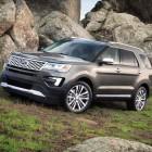 2016 Ford Explorer facelift begins production; 2.3L turbo optional